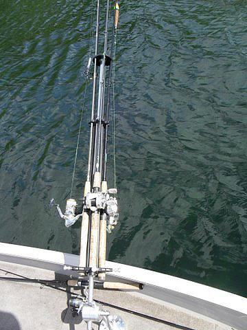 Front Mount Fishing Rod Holder