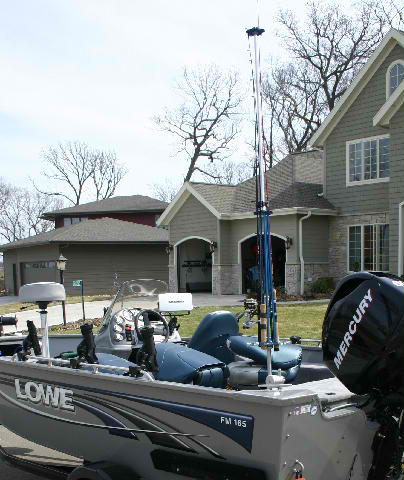 lowe fishing boat (can be vertical or horizontal)